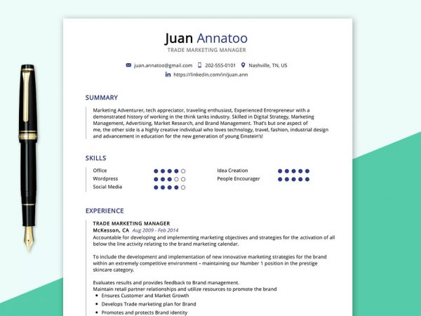 Perfect Free Resume Cv Templates Word Format 2020 Maxresumes
