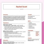Teacher Resume Example Free PDF