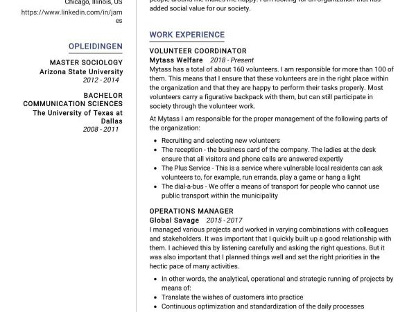 Coordinator-Resume-Sample_